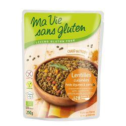 Linte cu legume si curry produs fara gluten gata preparat x 250g Ma Vie sans Gluten