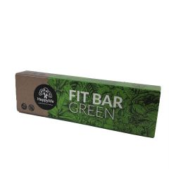 Baton vegan Fit Bar GREEN fara gluten x 42g Happy Life