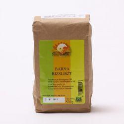 Faina de orez brun fara gluten x 500g Naturbit