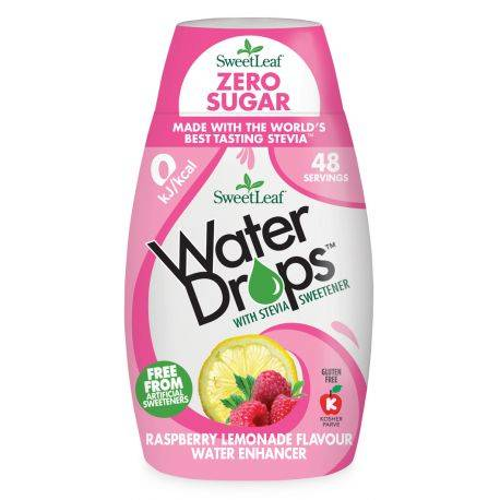 Water Drops cu Limonada de zmeura x 48ml Sweetleaf