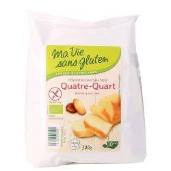 "Amestec pentru chec ""patru sferturi"" fara gluten x 300g Ma vie sans gluten"