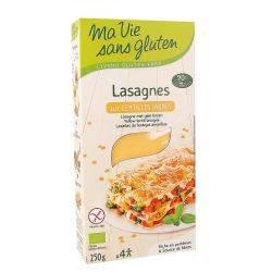 Lasagna din linte galbena fara gluten x 250g Ma vie sans gluten