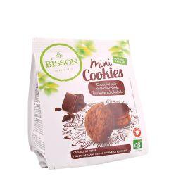 Mini Cookies cu ciocolata neagra x 120g Bisson