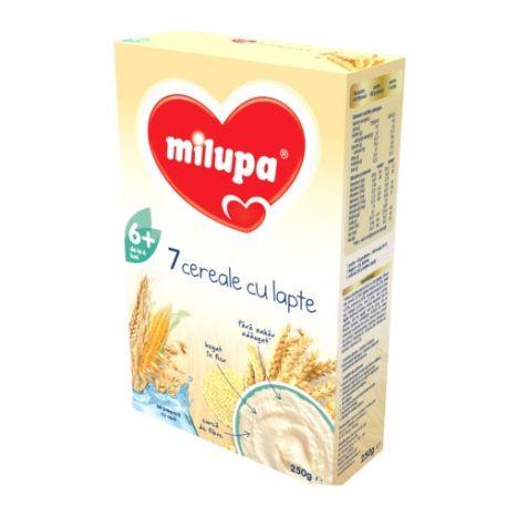 Cereale cu lapte 7 Cereale x 250g Milupa