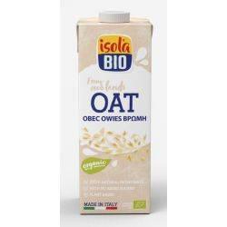 Lapte vegetal bio din ovaz x 1000ml Isola Bio