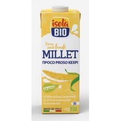 Lapte vegetal bio din mei fara gluten x 1000ml Isola Bio