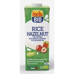 Bautura bio din orez cu alune fara gluten x 1000ml Isola Bio