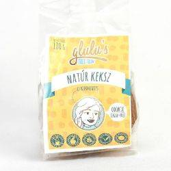 Biscuiti natural fara gluten si fara zahar x 100g Glulu's