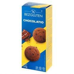 Biscuiti fara gluten cu ciocolata x 130g Bezgluten
