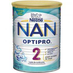 Lapte Praf Nestle Nan2 x 400g, 6-12luni