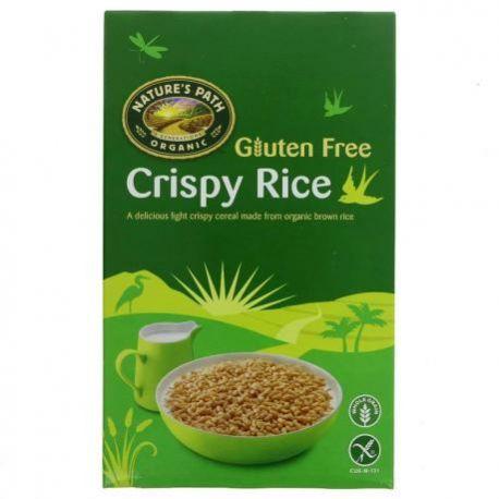 Cereale fara gluten crocante din orez ECO x 284g Nature's Path