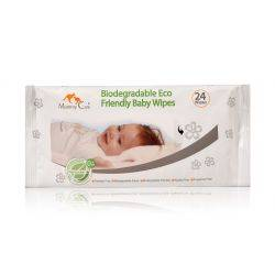 Servetele umede, eco biodegradabile bebelusi X 24 buc Mommy Care