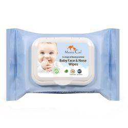 Servetele umede biodegradabile pentru fata si nas Mommy Care