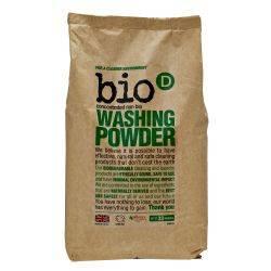 Detergent rufe pudra, hipoalergic, vegan x 2kg Bio-D