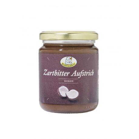 Crema eco de ciocolata neagra cu cocos fara gluten x 250g Eisblumerl
