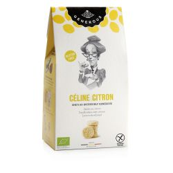 Biscuiti eco fara gluten Celine Citron cu lamaie si unt x 120g Generous