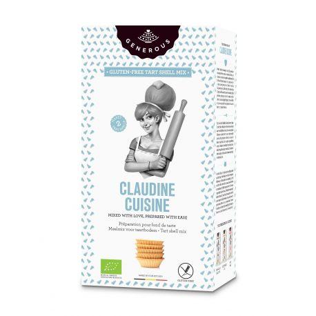 Amestec eco de faina pentru tarte fara gluten Claudine Cuisine x 500g Generous
