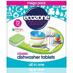 Tablete pentru masina de spalat vase, Clasic x 72buc Ecozone