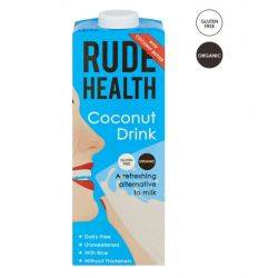 Lapte vegetal organic din nuci de Cocos x 1000ml Rude Health