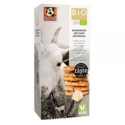 Biscuiti organici cu branza de capra x 75g Buiteman