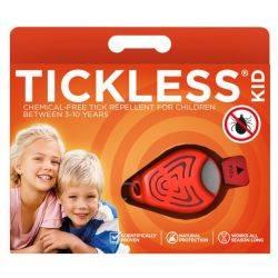 Repelent ultrasonic anticapuse pentru copii 0-5 ani, culoare orange Tickless Baby