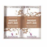 Masca restructuranta anti-aging pentru fata cu ceai verde, baobab si acid hialuronic 2x4.5g Secrets des Fees