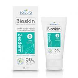 Zeoderm crema tratament reparatoare si hidratanta pentru pielea cu eczema sau psoriazis fata si corp x 50ml Salcura