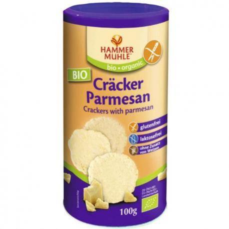 Crackers cu parmezan fara gluten ECO x 100g Hammer Muhle