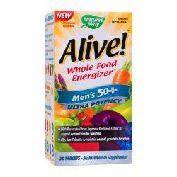 Alive! Once Daily Mens 50+ Ultra x 30tb Natures Way