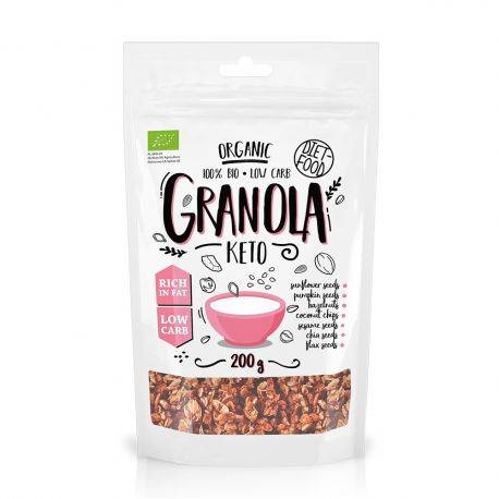 Granola bio Keto x 200g Diet Food