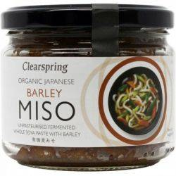 Miso orz nepasteurizat Eco x 300g Clearspring