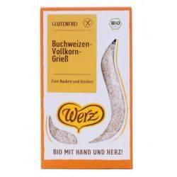 Gris de hrisca bio fara gluten x 250g Werz