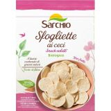 Snack pe baza de naut fara gluten x 50g Sarchio