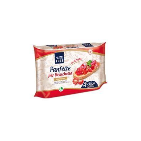 Paine feliata fara gluten pentru bruschete x 300g Nutrifree