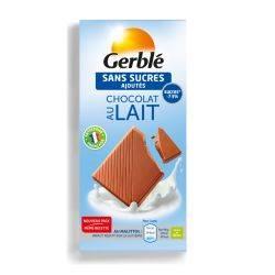 Glucoregul ciocolata hipoglucidica cu lapte x 80g Gerble