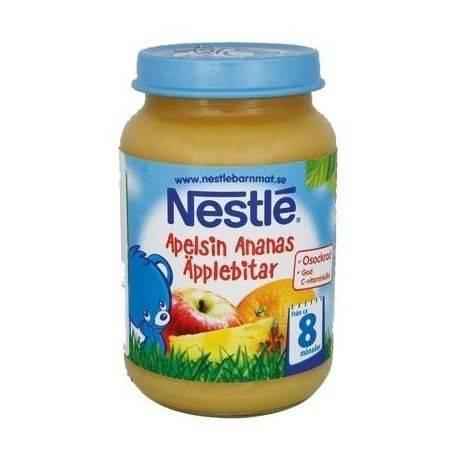 Nestle piure mar, banana si ananas x 195g