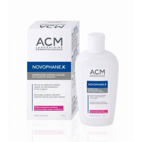 Novophane K Sampon anti-matreata sever x 125ml ACM