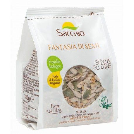Mix de seminte fara gluten x 180g Sarchio