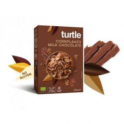 Fulgi de porumb inveliti in ciocolata cu lapte fara gluten x 250g Turtle