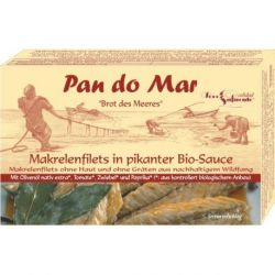 Macrou file in sos picant x 120g Pan Do Mar