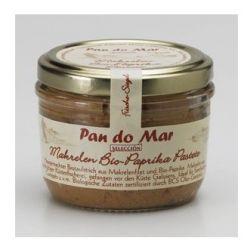 Pate de macrou cu ardei bio x 125g Pan Do Mar