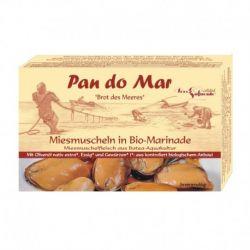 Midii negre in sos bio marinat x 115g Pan Do Mar