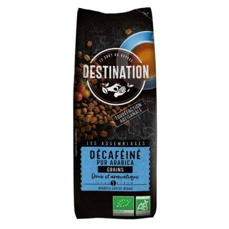 Cafea eco boabe Pur Arabica Decaf x 250g Destination
