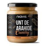 Unt de arahide Crunchy Ecologic/BIO fara gluten x 250g Niavis