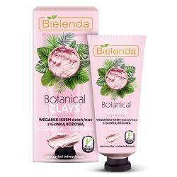 Crema vegana de fata cu argila roz zi/noapte Botanical Clays x 50ml Bielenda