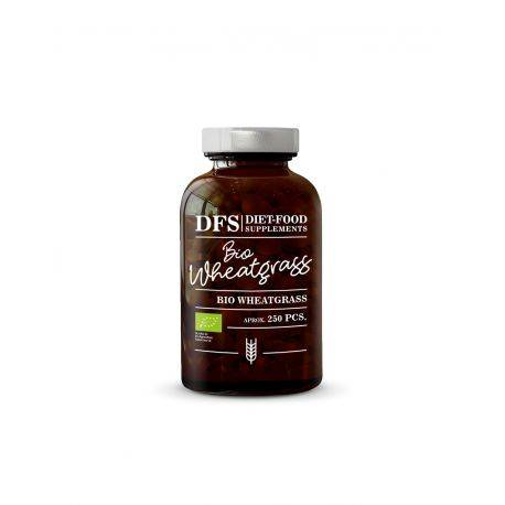 Bio Iarba de grau 250 tablete x 500mg Diet Food