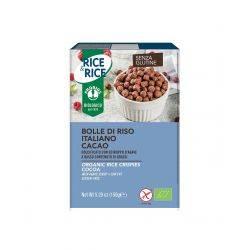 Bilute de orez cu cacao fara zahar, fara gluten x 150g Rice Rice