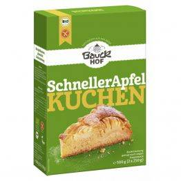 Premix eco fara gluten pentru tort de mere rapid x 500g Bauckhof