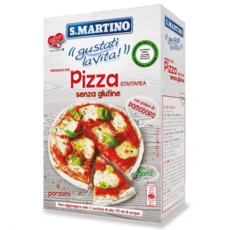 Mix pentru pizza fara gluten x 460g S.Martino