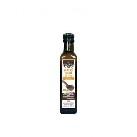Ulei bio din seminte de in presat la rece x 250ml Il Nutrimento
